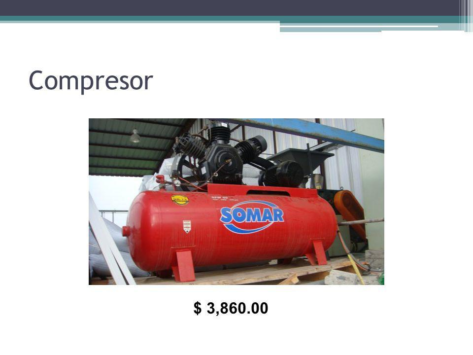 Compresor $ 3,860.00