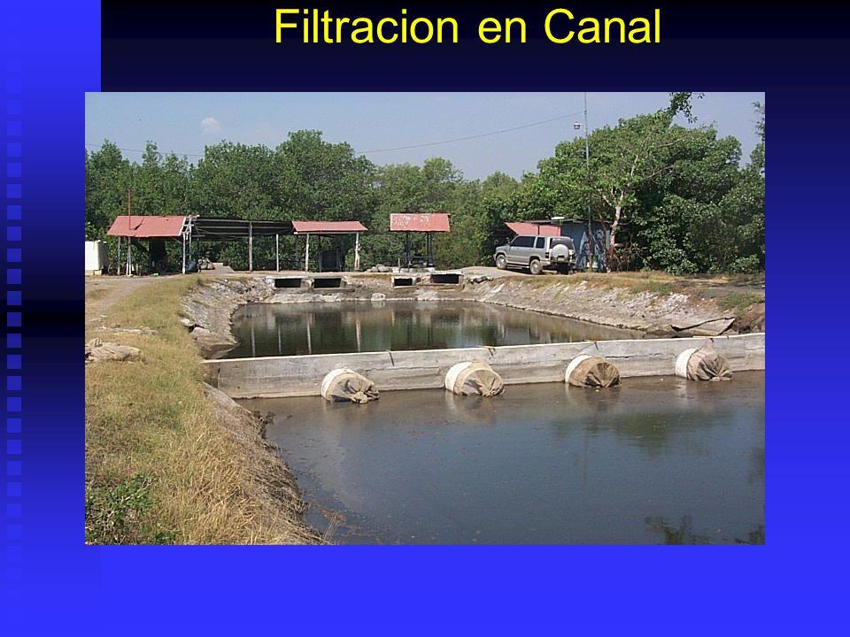 Filtracion en Canal