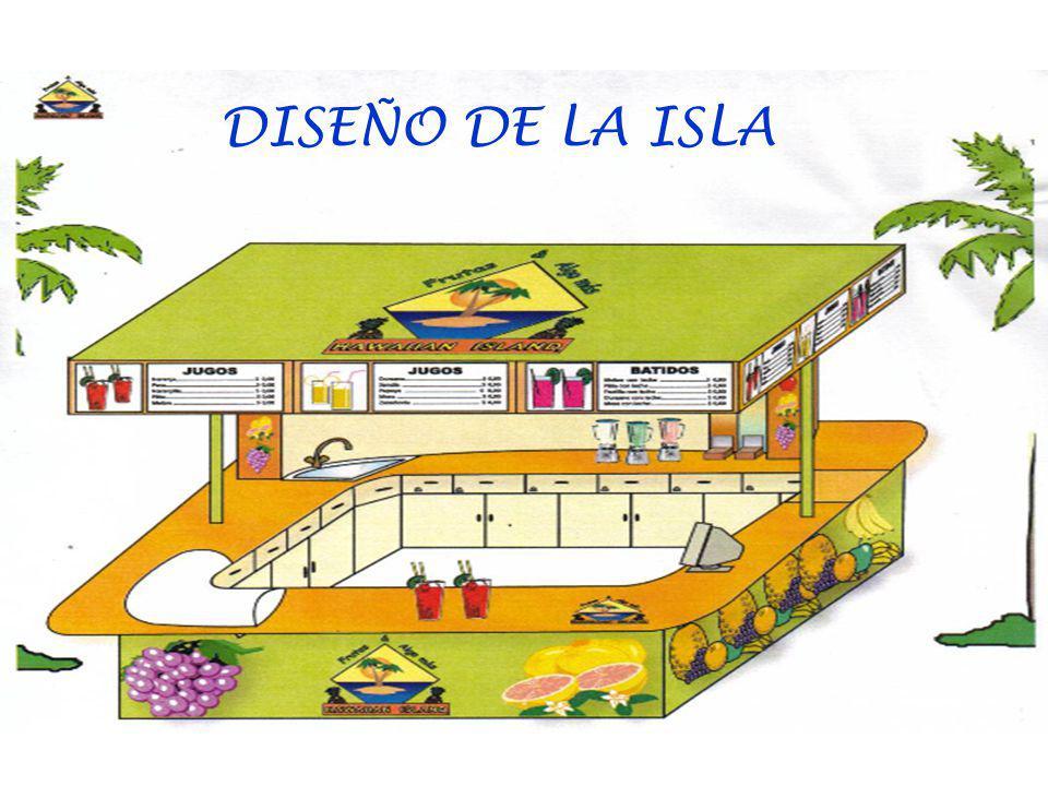 DISEÑO DE LA ISLA