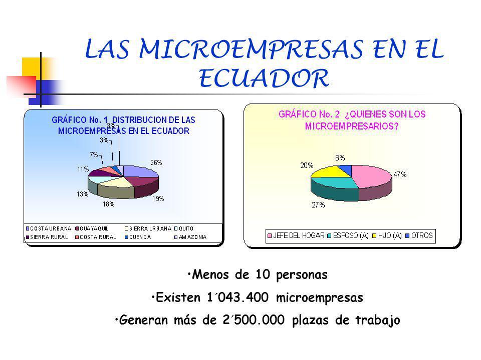 LAS MICROEMPRESAS EN EL ECUADOR