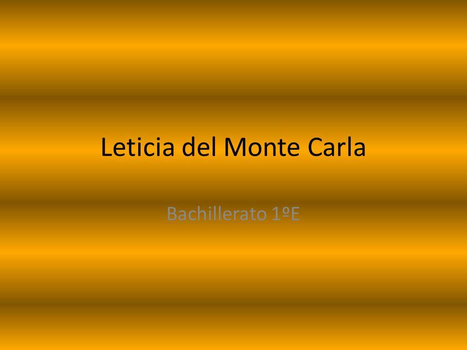 Leticia del Monte Carla