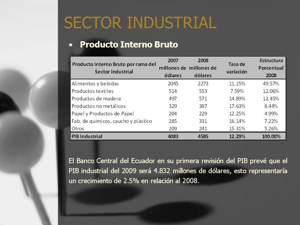 SECTOR INDUSTRIAL Producto Interno Bruto
