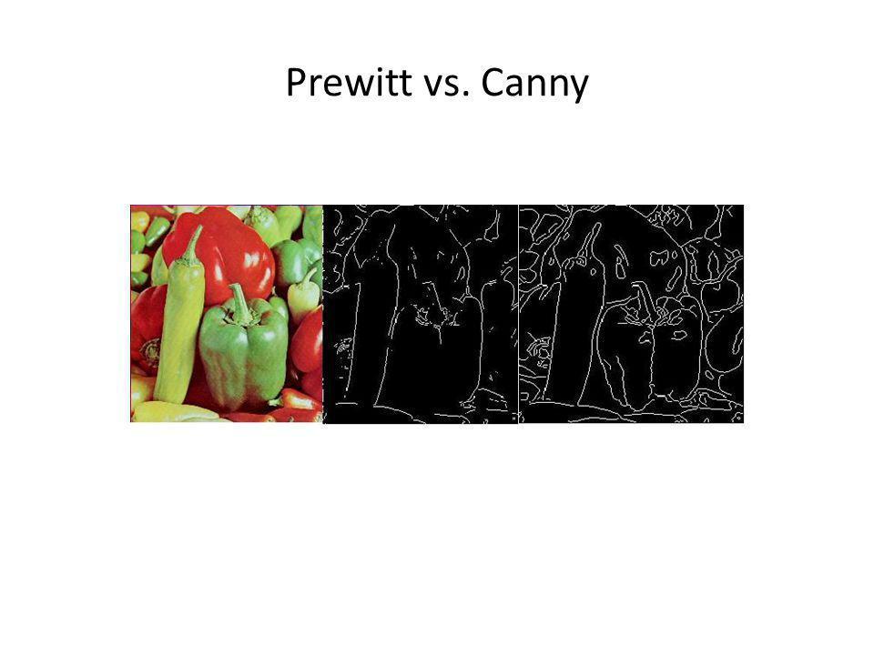 Prewitt vs. Canny