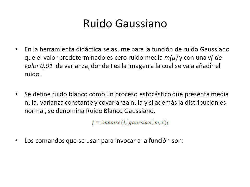 Ruido Gaussiano