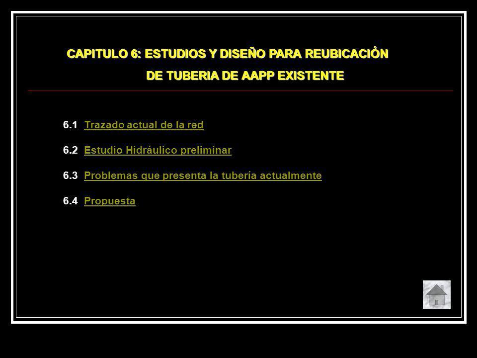 CAPITULO 6: ESTUDIOS Y DISEÑO PARA REUBICACIÓN