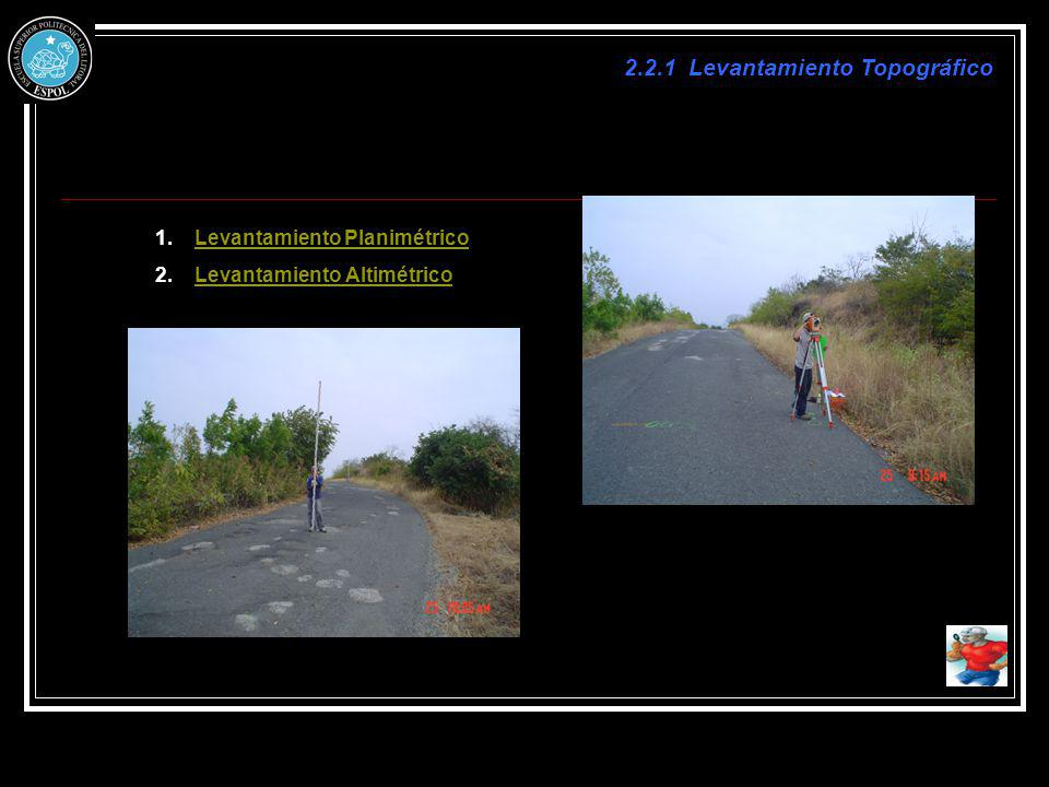 2.2.1 Levantamiento Topográfico
