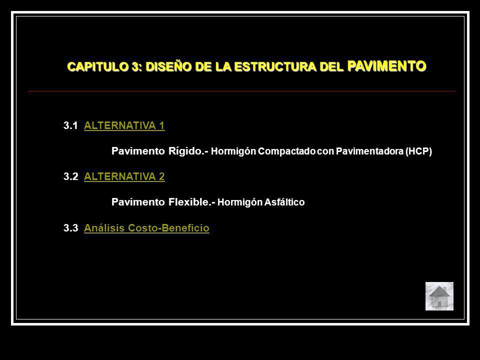 CAPITULO 3: DISEÑO DE LA ESTRUCTURA DEL PAVIMENTO