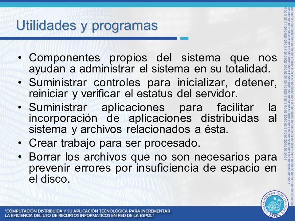 Utilidades y programas