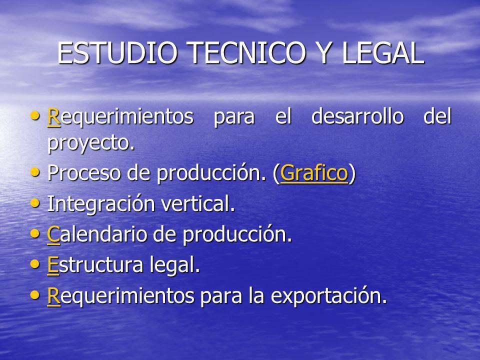 ESTUDIO TECNICO Y LEGAL