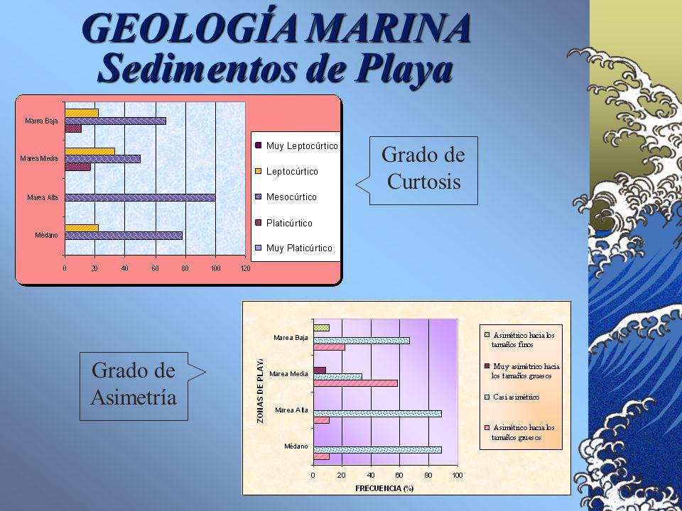 GEOLOGÍA MARINA Sedimentos de Playa