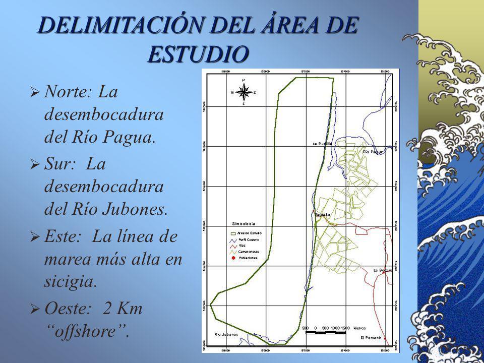 DELIMITACIÓN DEL ÁREA DE ESTUDIO