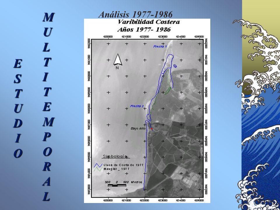 Análisis 1977-1986 E S T U D I O M U L T I E P O R A