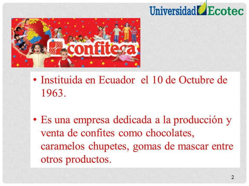 Instituida en Ecuador el 10 de Octubre de 1963.