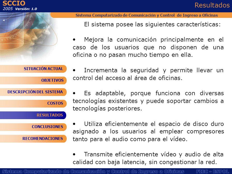 Sistema Computarizado de Comunicación y Control de Ingreso a Oficinas