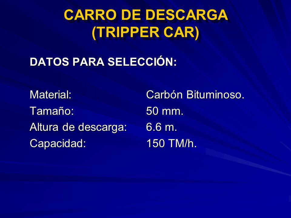 CARRO DE DESCARGA (TRIPPER CAR)