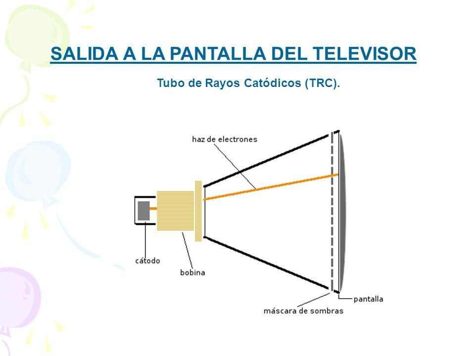 SALIDA A LA PANTALLA DEL TELEVISOR