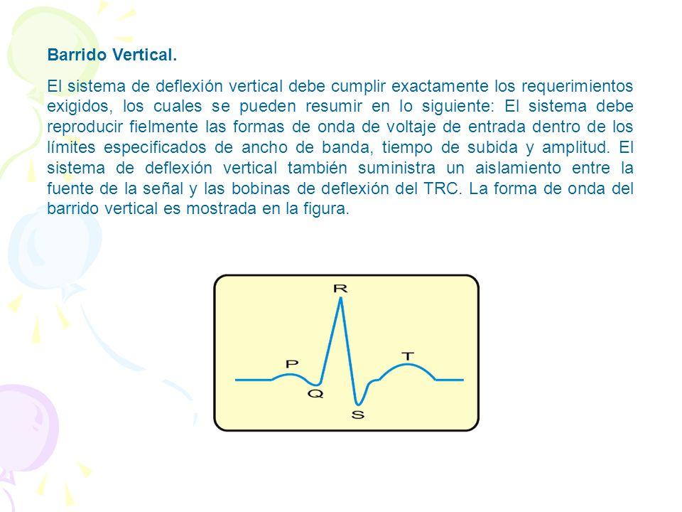 Barrido Vertical.