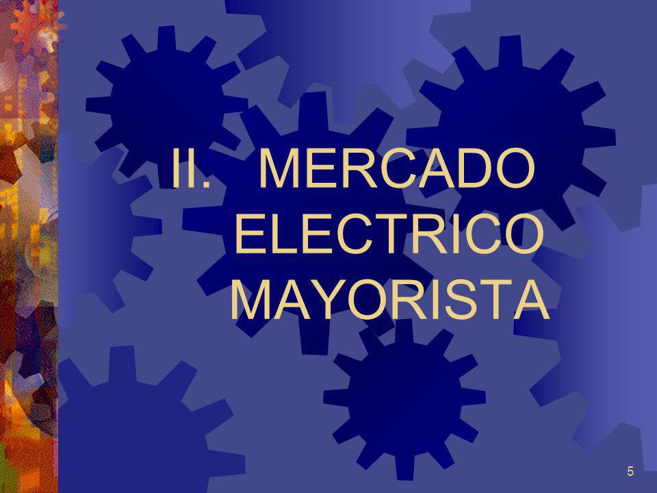 MERCADO ELECTRICO MAYORISTA