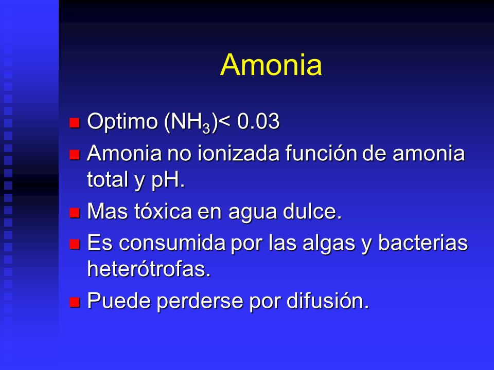 Amonia Optimo (NH3)< 0.03