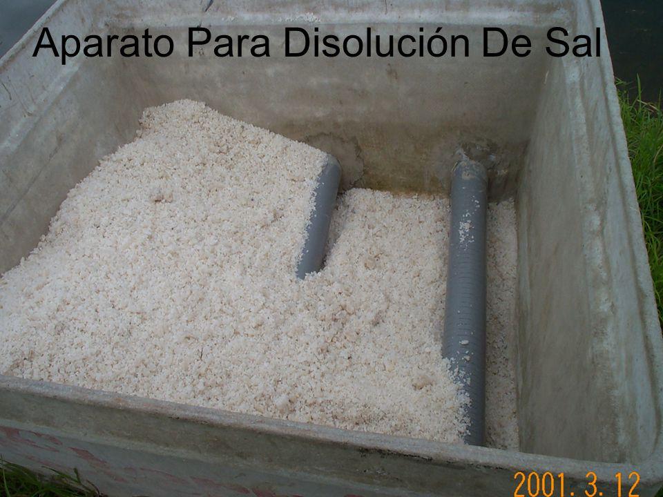 Aparato Para Disolución De Sal