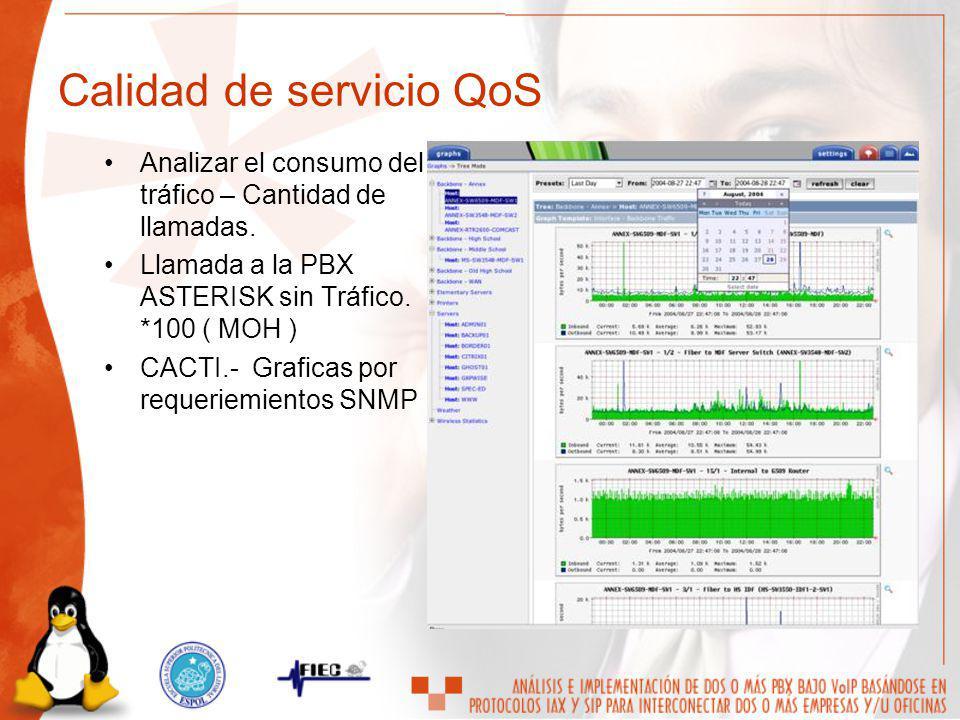 Calidad de servicio QoS