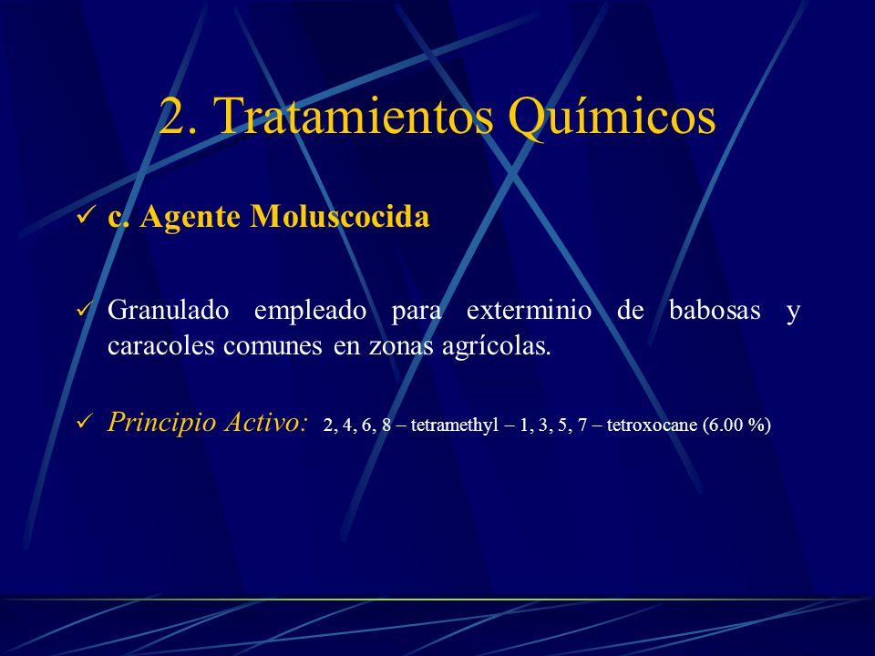 2. Tratamientos Químicos