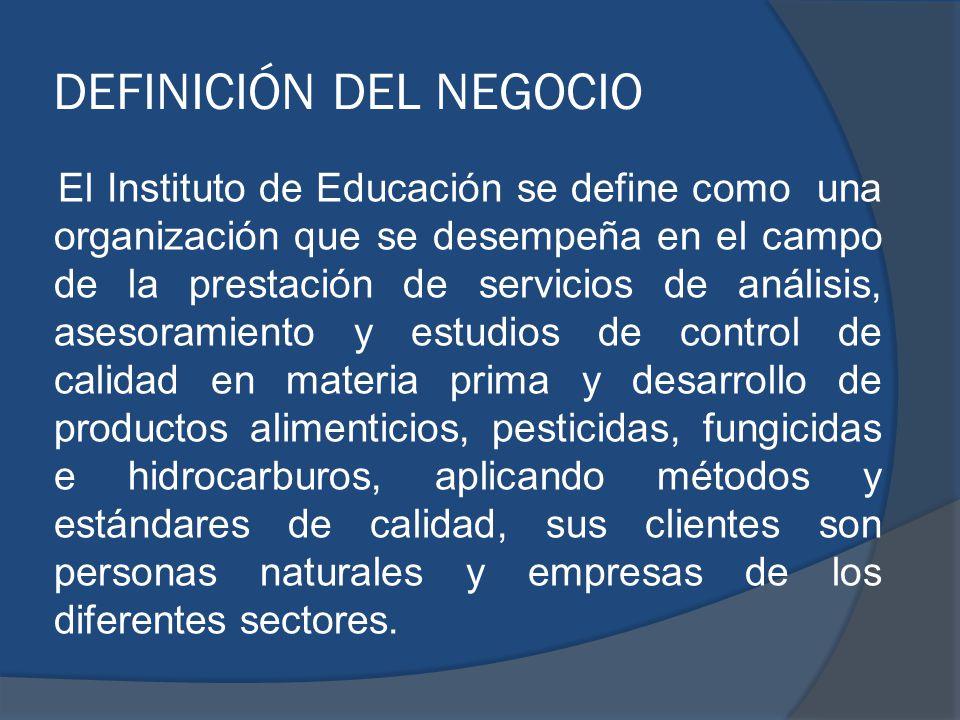 DEFINICIÓN DEL NEGOCIO