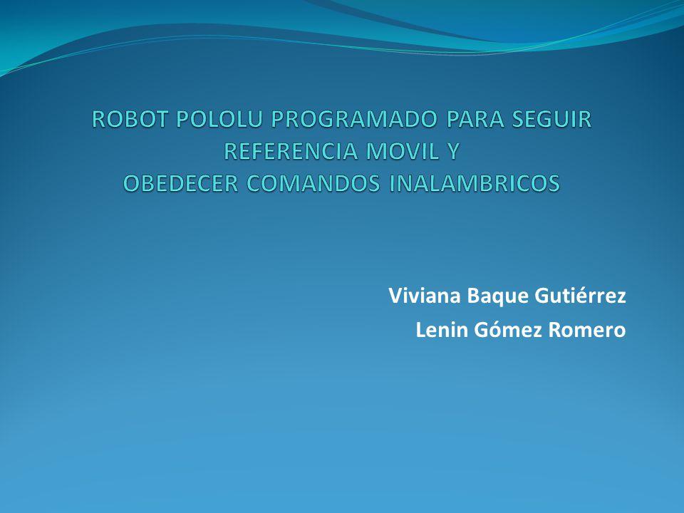 Viviana Baque Gutiérrez Lenin Gómez Romero