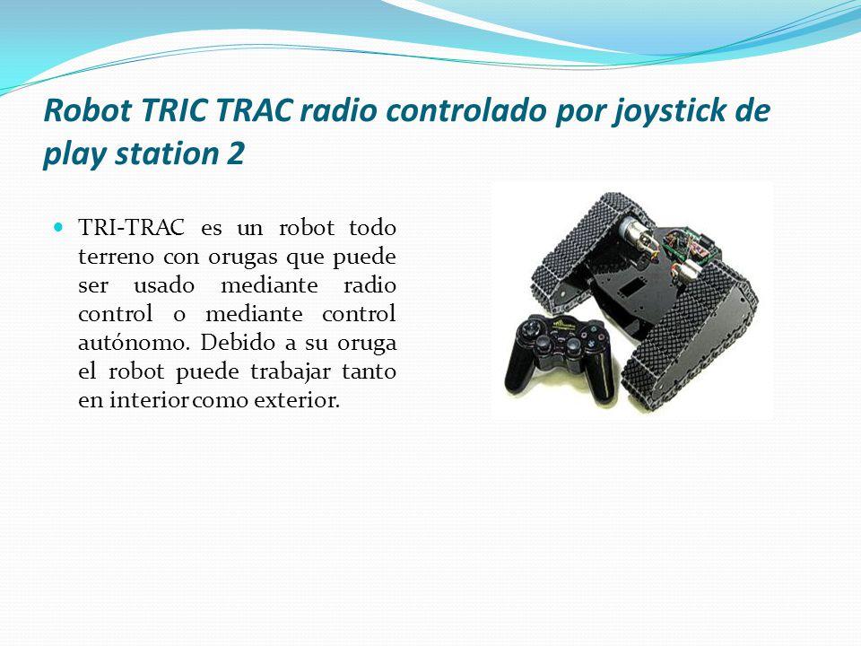 Robot TRIC TRAC radio controlado por joystick de play station 2