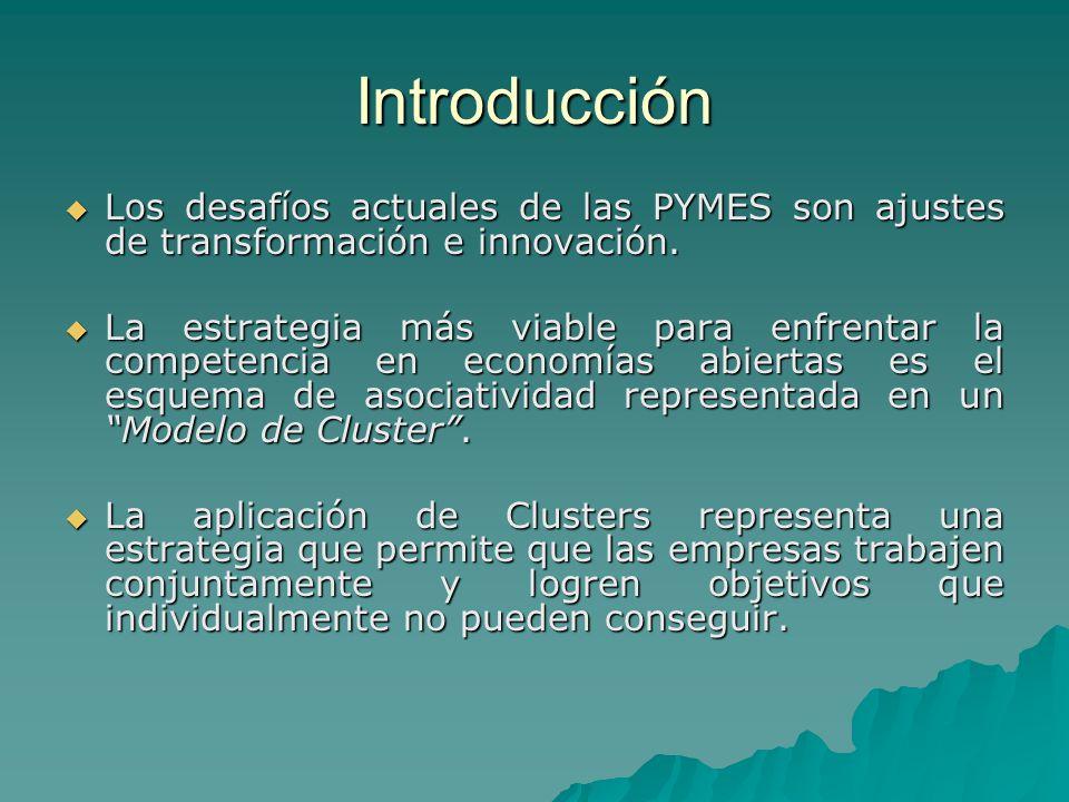 Introducción Los desafíos actuales de las PYMES son ajustes de transformación e innovación.