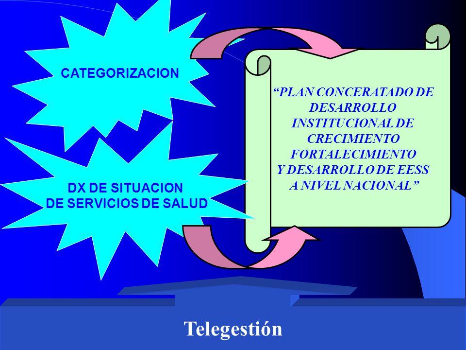 Telegestión CATEGORIZACION PLAN CONCERATADO DE DESARROLLO