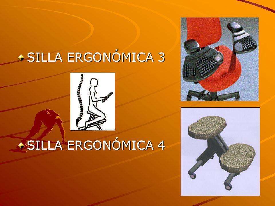 SILLA ERGONÓMICA 3 SILLA ERGONÓMICA 4