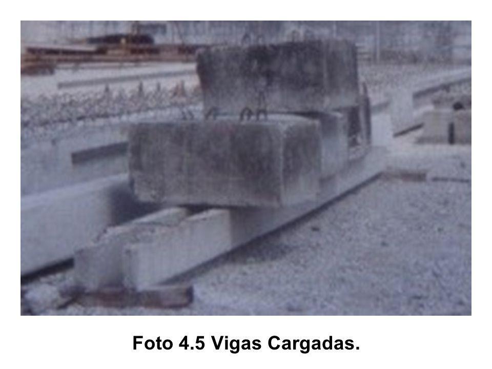 Foto 4.5 Vigas Cargadas.