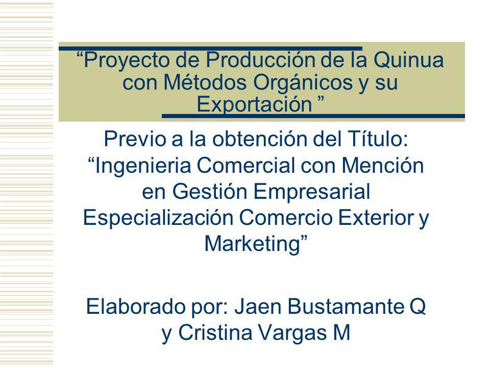 Elaborado por: Jaen Bustamante Q y Cristina Vargas M