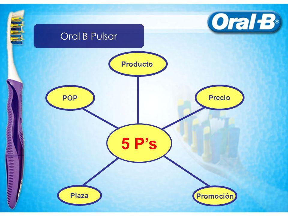 Oral B Pulsar Producto POP Precio 5 P's Plaza Promoción
