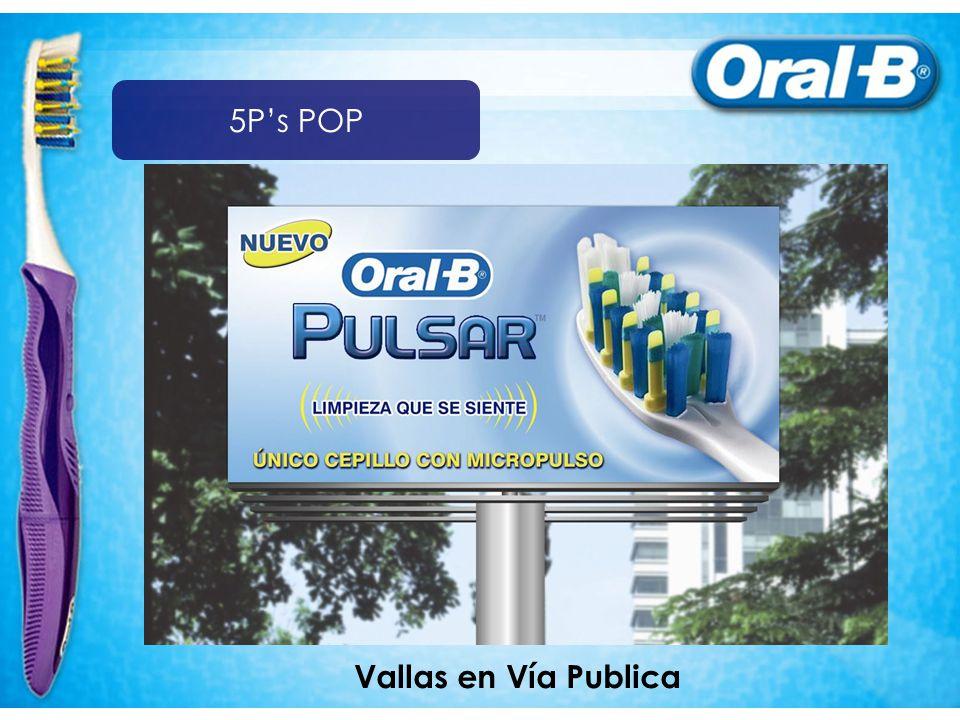 5P's POP Vallas en Vía Publica