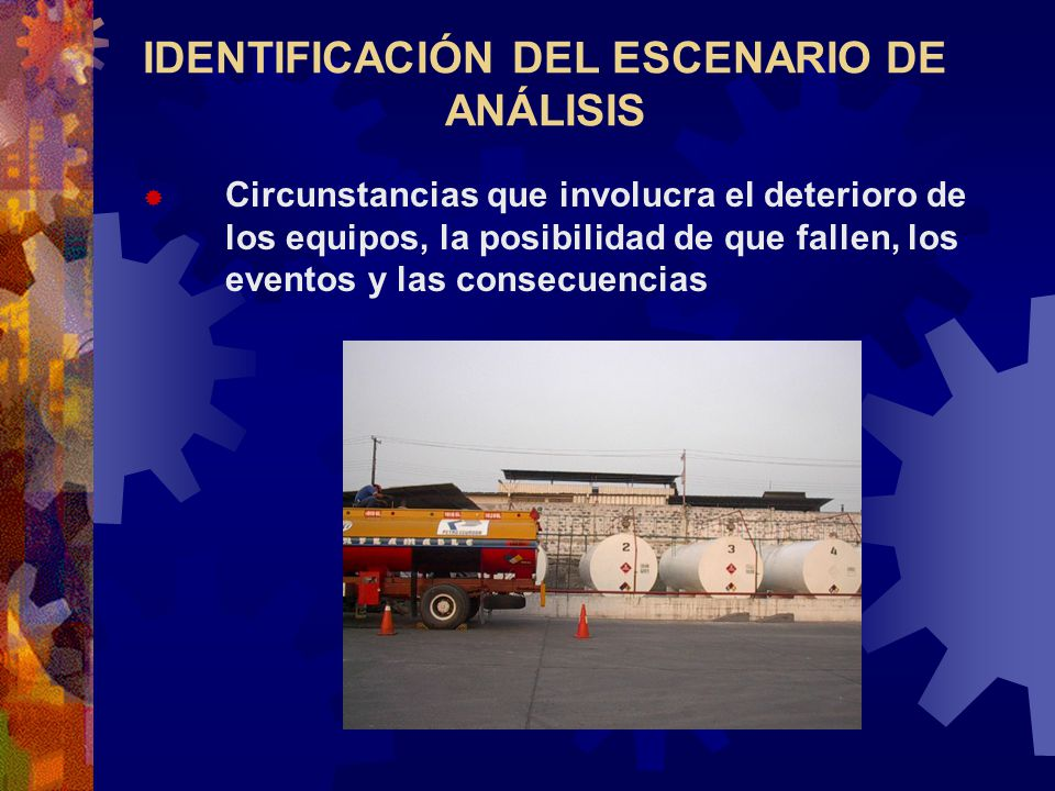 IDENTIFICACIÓN DEL ESCENARIO DE ANÁLISIS