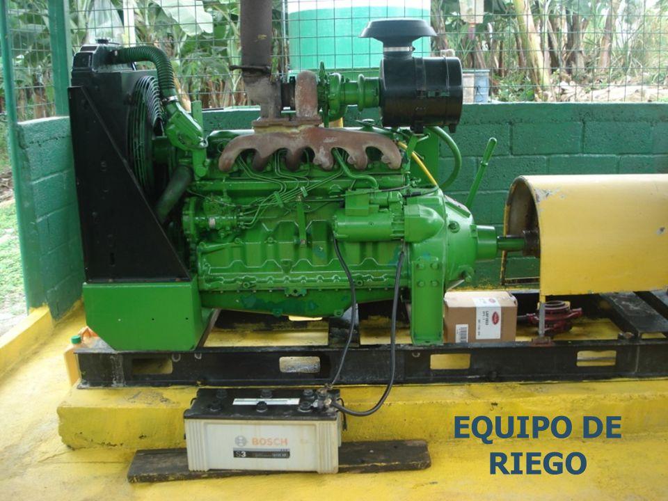 EQUIPO DE RIEGO