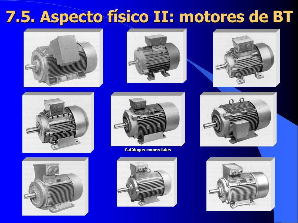 7.5. Aspecto físico II: motores de BT