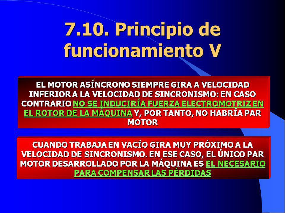 7.10. Principio de funcionamiento V