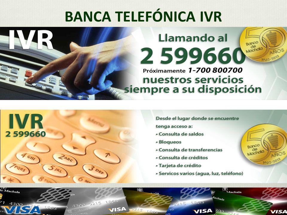 BANCA TELEFÓNICA IVR