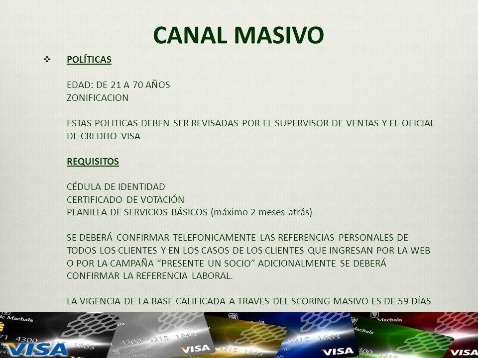 CANAL MASIVO
