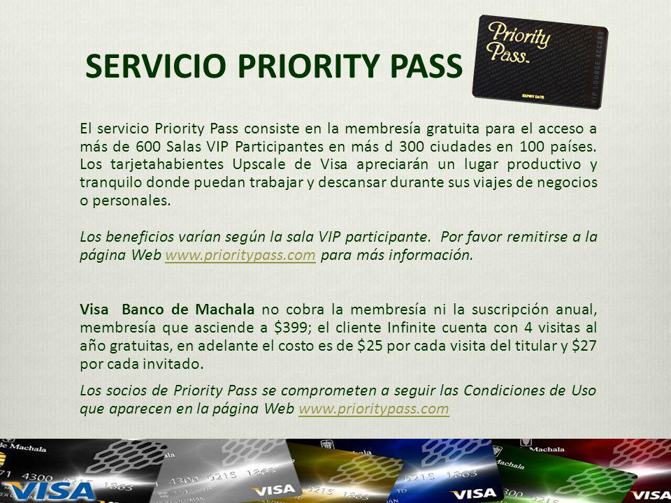 SERVICIO PRIORITY PASS