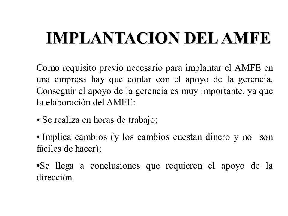 IMPLANTACION DEL AMFE