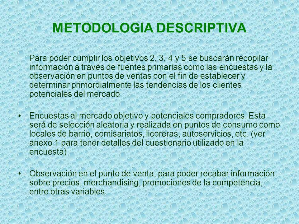 METODOLOGIA DESCRIPTIVA