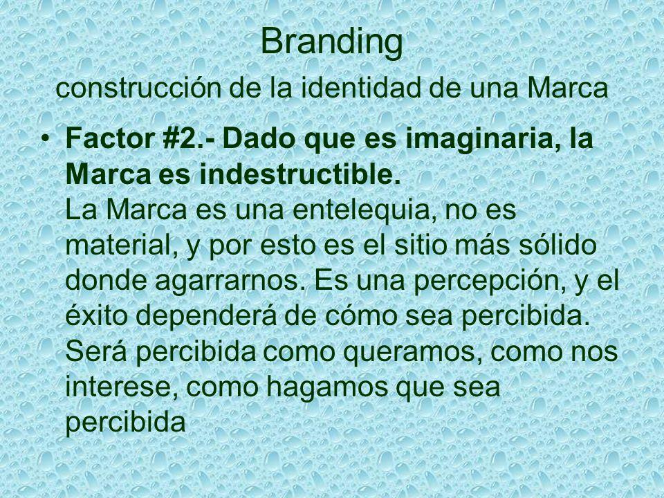 Branding construcción de la identidad de una Marca