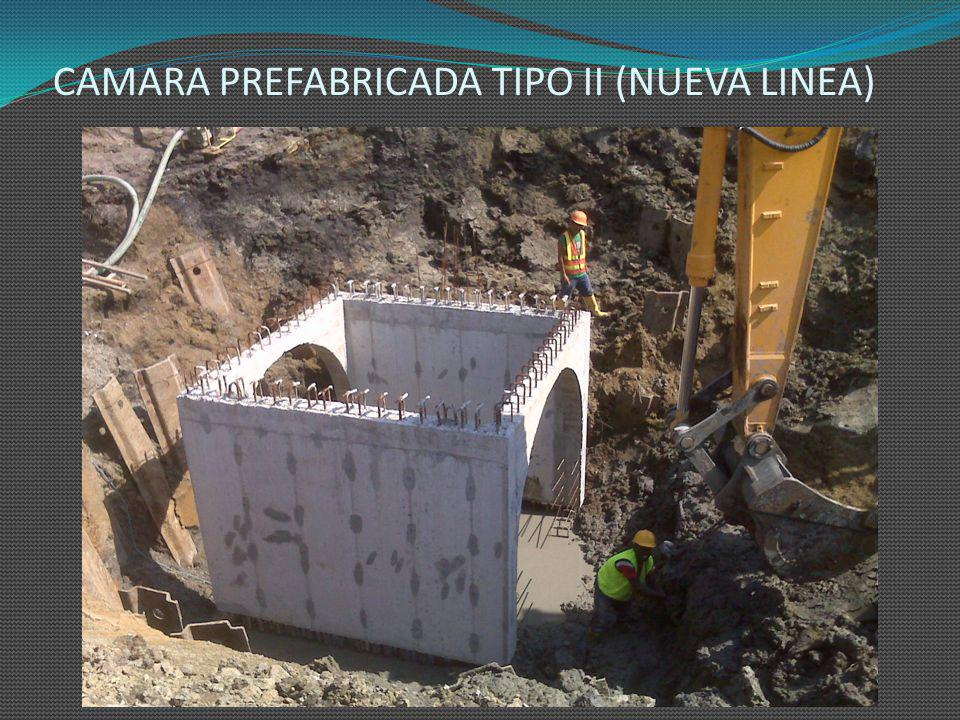 CAMARA PREFABRICADA TIPO II (NUEVA LINEA)