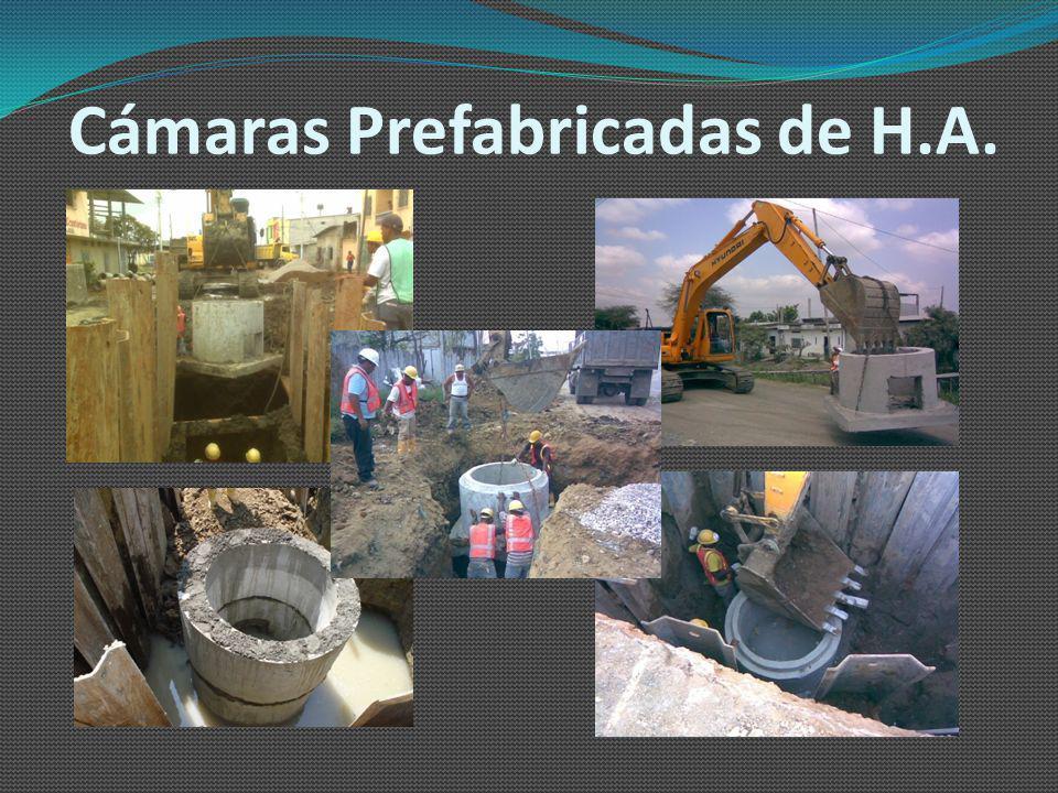 Cámaras Prefabricadas de H.A.