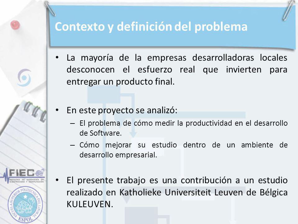 Contexto y definición del problema