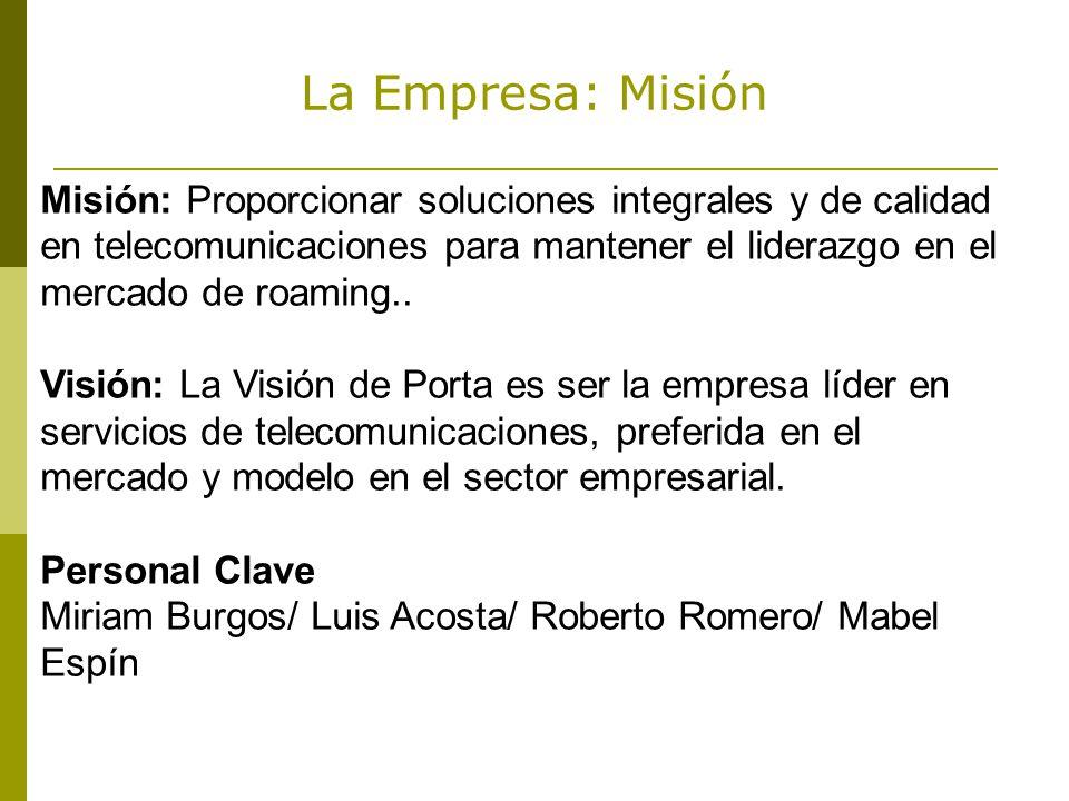 La Empresa: Misión